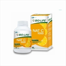 Biolife Nat C Vitamin C 1000mg With Bioflavanoids 30s