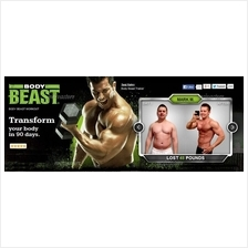 The Body BEAST Workout System by Beachbody.17 Videos +Workebooks 3DVDs