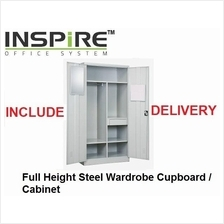 Full Height Steel Wardrobe Cupboard | Cabinet