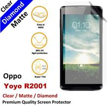 Premium Diamond Matte Clear LCD Film Screen Protector Oppo Yoyo R2001