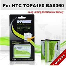 Genuine Long Lasting Battery BAS360 TOPA160 HTC Touch2 Touch 2 Battery