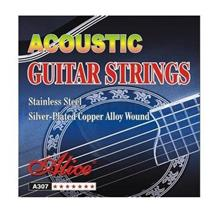 Alice A307-SL Super Light Steel Acoustic Guitar Strings .011/.052