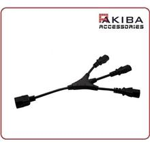 AC Cord C14 to C13 3-Way Split Power Cable