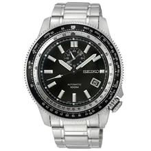 SEIKO SSA003K1 Men's Superior 24-hr-Date Automatic SS Bracelet Black