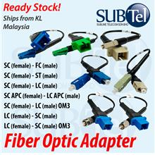 SC-FC SC-ST SC-LC SMF Singlemode Fiber Optic Adapter Coupler for Patch