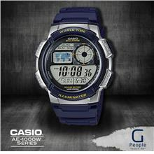 CASIO AE-1000W-2AV / AE-1000W-2A WORLD TIME WATCH 100% ORIGINAL