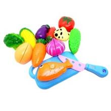 Cutting Fruit Vegetable Kitchen Girls Kids Toys Tools Gift Education