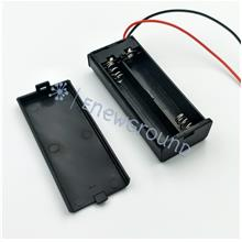 AAA size battery holder with cover and switch (2 cell)