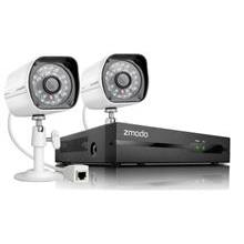 ZMODO NVR COMBO 4 CH 720P/2 X IP CAMERA/WITHOUT HDD CCTV (ZM-SS712)