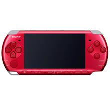 SONY PSP 3000 SERIES MODDED GAMES CONSOLE (PSP-3006RR) RADIANT RED