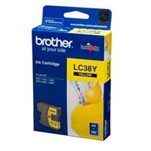 GENUINE BROTHER LC-38 YELLOW INK CARTRIDGE **NEW**SEALED BOX