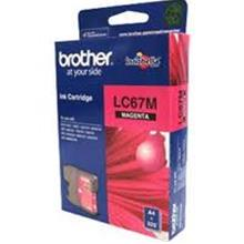 GENUINE BROTHER LC-67 MAGENTA INK CARTRIDGE **NEW**SEALED BOX