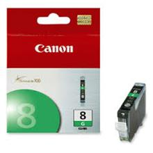 GENUINE CANON CLI-8 GREEN INK CARTRIDGE **NEW**SEALED BOX