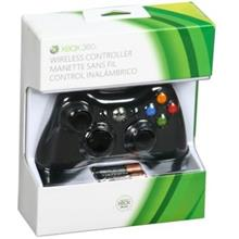 ORIGINAL XBOX 360 WIRELESS GAMES CONTROLLER (BLACK)
