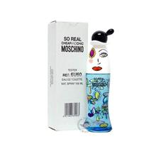 *100% Original Tester Unit*Moschino Cheap & Chic So Real 100ml Edt Spr