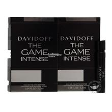 *100% Original Perfume Vials*Davidoff The Game Intense 1.2ml Edt x2