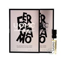 *100% Original Perfume Vials*S.Ferragamo UOMO 1.5ml Edt Spray  x2