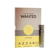*100% Original Perfume Vials* Azzaro Wanted 1.2ml Edt Spray x2