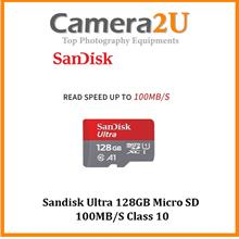 Sandisk Ultra 128GB Micro SD 100MB/S Class 10 - No adapter
