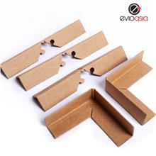 90 degree Corrugated Paper Lock Style Angel Corner Protector
