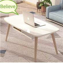 80*40cm Modern Design Coffee Table Home Living Furniture Tea Table Whi