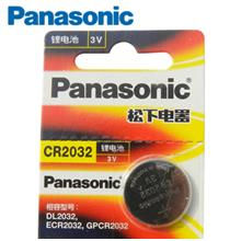PANASONIC LITHIUM 3V CMOS BATTERY CR2032