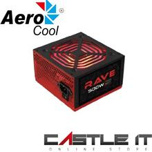 AEROCOOL RAVE 500W RGB 80PLUS POWER SUPPLY (4713105953282)