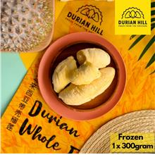 (Durian Hill) FROZEN MUSANG KING DURIAN 1 X 300 GRAM