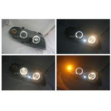 BMW E46 98-01 PROJECTOR HEADLAMP w RING
