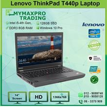 Lenovo ThinkPad T440p i5-4th 8GB 128GB SSD Laptop 1366x768 Win10Pro