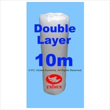 Grade A DOUBLE Layer BUBBLE WRAP 1m x 10m PROMO Plastic Packaging