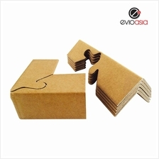 (12pcs) 90 degree Corrugated Paper Lock Style Angel Corner Protector