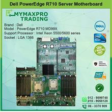 Dell PowerEdge R710 LGA 1366 Server System Board MD99X