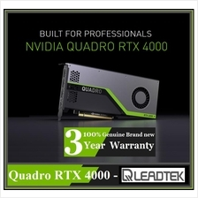 LEADTEK QUADRO RTX 4000 8GB GDDR6 256B PCIe Professional Graphics Card
