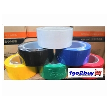Ready Stock Colourful Floor Marking Tape 48mm x 30m