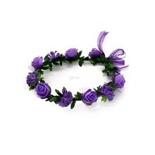 Fashion Hair Accessorieas Beach Wedding Garland Wreath Headband Headpi