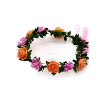 Fashion Hair Accessorieas Bridesmaid Garland Wreath Headband Headpiece