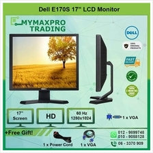 Dell 17' E170s Flat Panel LCD Monitor 1280x1024 VGA replace E1715s LCD