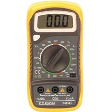EDISON EDI5162900K DM383 DIGITAL MULTIMETER