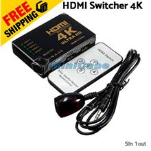 HDMI Switcher 5 in 1 Out 4K Switch for TV