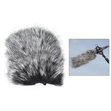 Small Size Outdoor Microphone Mic Furry Windscreen Windshield Cover