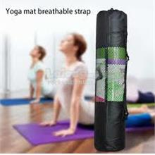 6mm Max Adjustable Strap Yoga Pilates Mat Mesh Net Shoulder Bag