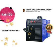 DELTA GASLESS  188 MIG INVERTER WELDING MACHINE SET  MALAYSIA