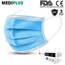 FDA Medical Surgical Face Mask 3-Ply with Ear loop (50 pcs)