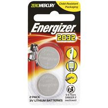 ENERGIZER LITHIUM 3V CR2032 BATTERY 2PCS (E-CR2032BP-2) (CR2032BS2)