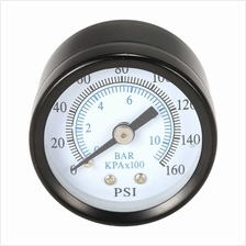 40mm 0~160psi 0~10bar Pool Filter Water Pressure Dial Hydraulic Pressure Gauge