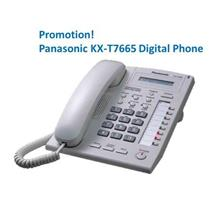 Panasonic KX-T7665X 8COL LCD Display Digital Phone (Keyphone System)