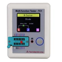 Colorful Display Transistor Tester Multi-functional TFT Backlight Didoe Triode