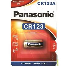 CR-123AW/1BE Panasonic CR123A CR123 PhotoPower Lithium -3V -1.4Ah