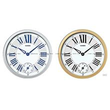 CASIO IQ-70 analog smooth second hand dual movement wall clock